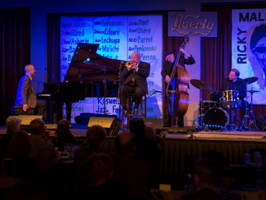 The Roswell Jazz Festival is held at 10 different venues