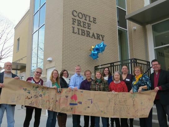 Coyle Free Library, Chambersburg, celebrated its grand