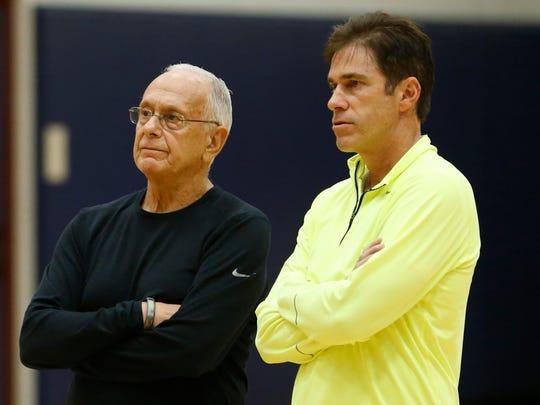 Southern Methodist Mustangs head coach Larry Brown,