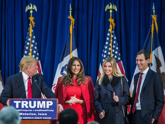 Donald Trump Holds Final Iowa Campaign Rallies On Day Of Caucuses