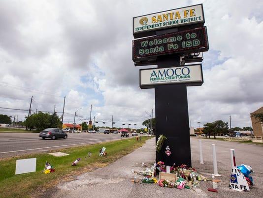 Texas Santa Fe school shooting