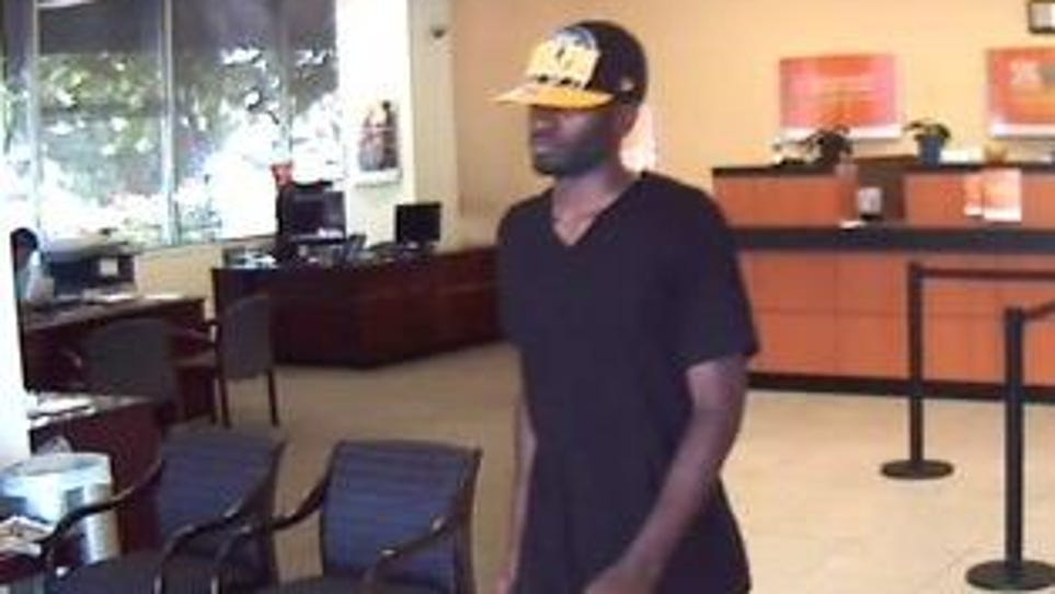 Police are looking for this man who they believe robbed