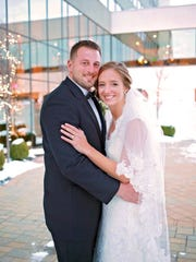 Jordan and Colleen Patch were married in 2014.
