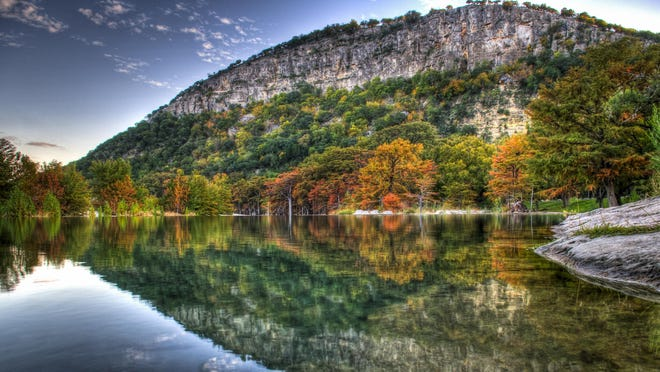 Garner State Park is a short drive from Concan, Texas.