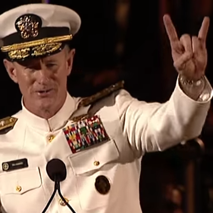 Navy Adm. William McRaven is the next chancellor of the University of Texas System.