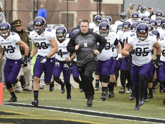 Pat Fitzgerald's 2012 Northwestern team won 10 games, but the Wildcats have gone 5-7 in the two seasons since.