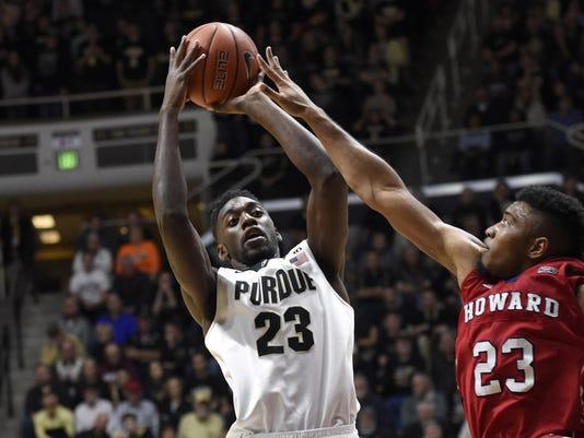NCAA Basketball: Howard at Purdue
