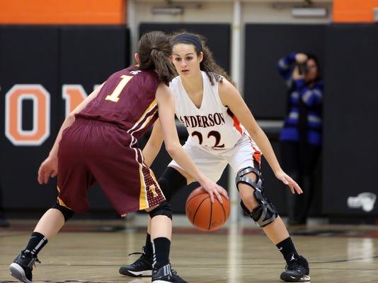 Turpin at Anderson Girls Basketball