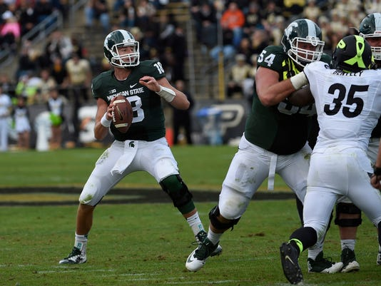 NCAA Football: Michigan State at Purdue