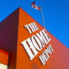 OAKVILLE, ON - JULY 5: Home Depot Canada home improvement retail storefront in Oakville, Ontario for use as desired to illustrate earnings reports, financial, business and building. July 5, 2014.        (Chris So/Toronto Star via Getty Images)