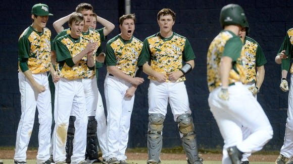 Reynolds plays Asheville High in Thursday night's conclusion to the MAC 3-A baseball tournament.