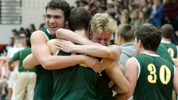 Reynolds won last year's Mountain Athletic Conference 3-A boys basketball tournament in Weaverville.