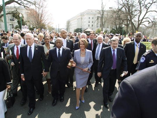Pelosi, Obey, Van Hollen, Hoyer, Lewis
