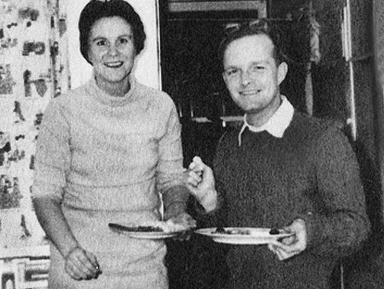 Harper Lee and Truman Capote in 1960.