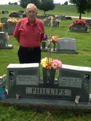 This is what the gravesite looks like today.