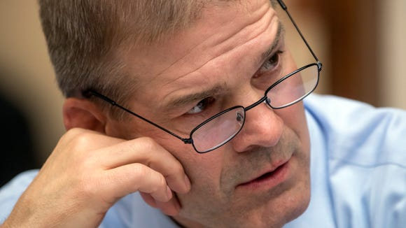 Rep. Jim Jordan, R-Ohio, is pictured on Capitol Hill