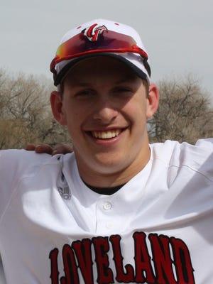 Loveland baseball player Jackson Bakovich is the Coloradoan's Male Athlete of the Week.