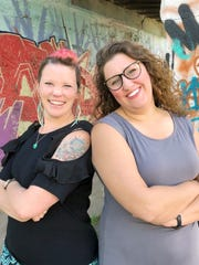 Illustrator Nicole Lapointe and author Bailey Sisoy
