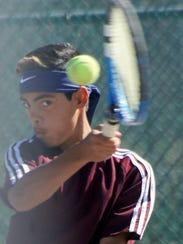 Deming eighth grader Elijah Castro was part of a winning