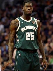 Milwaukee Bucks guard DeAndre Liggins.