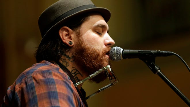 Appleton singer-songwriter Christopher Gold will be a part of eight performances at Mile of Music.