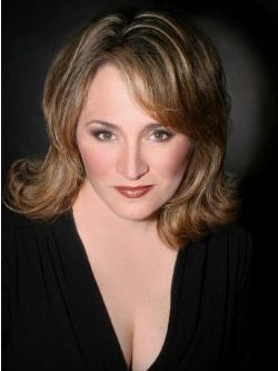 "Soprano Patricia Racette sings the title role in the Detroit Symphony Orchestra's ""Tosca."""
