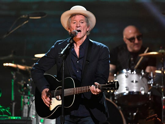 Rodney Crowell performs at the Merle Haggard tribute