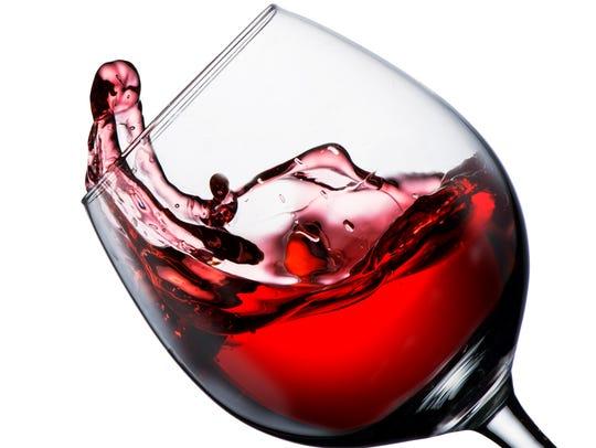 Z Live Studio will host a Wine Is My Valentine wineglass