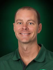 Scott Guttery, basketball coach at Fort Myers High School