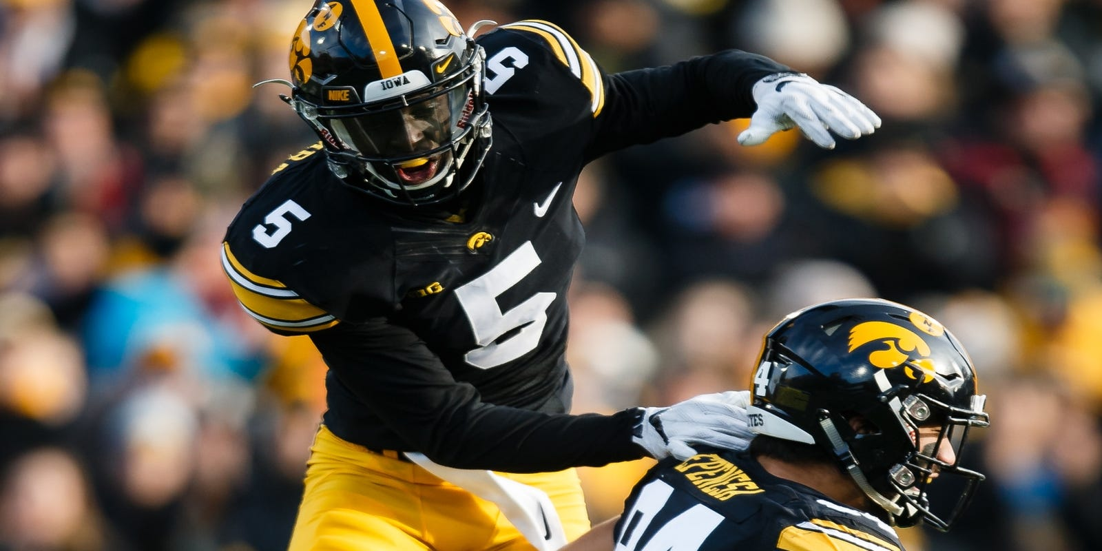 Manny Rugamba thrilled for return to Kinnick Stadium to face his old team
