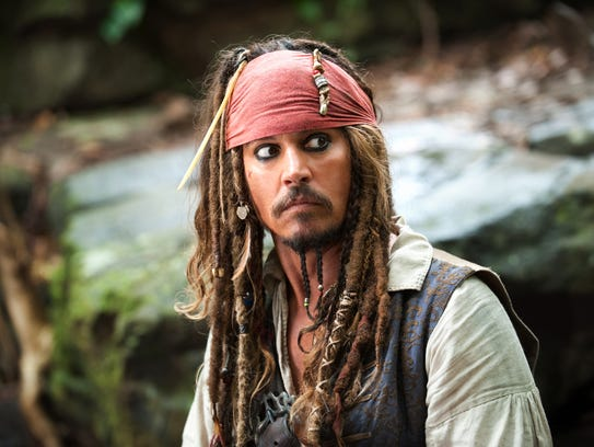 Johnny Depp is reprising his role as Captain Jack Sparrow.