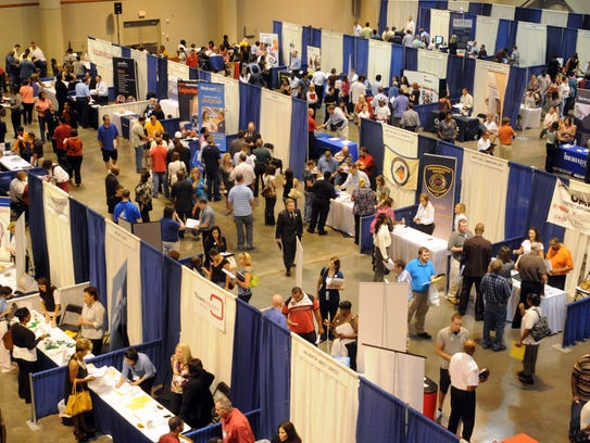 LEDA hosts a job fair at the Cajundome.