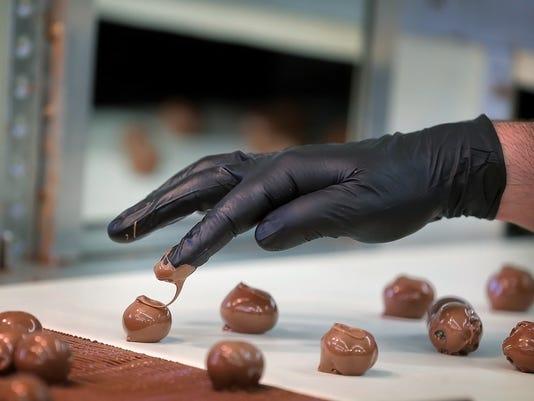 chocolate code lead art