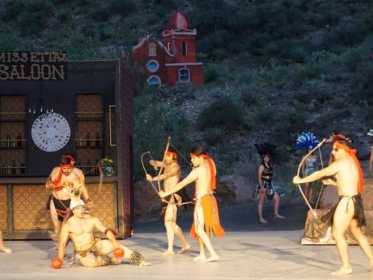 The Deer Dance in Viva! El Paso is one of the highlights