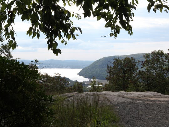 A view from the Appalachian Trail in Highland Falls.