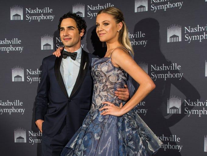 Zac Posen and Kelsea Ballerini at the Nashville Symphony