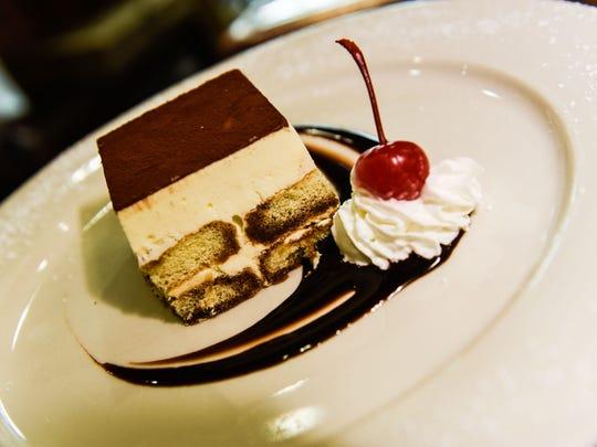 Tiramisu is one of Patrizia's dessert offerings.