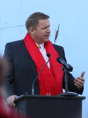 Marshfield Mayor Chris Meyer in October 2015.