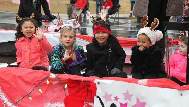 "Hendersonville's annual Christmas parade took place Sunday, Dec. 4, 2016. This year's theme was ""Dashing through the Snow,"" and Chris Henderson from 3 Doors Down served as grand marshal."
