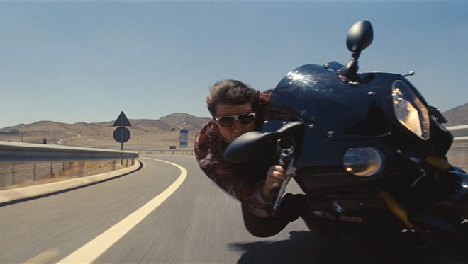 """Tom Cruise has been riding high as secret agent Ethan Hunt for 20 years and five """"Mission: Impossible"""" films."""