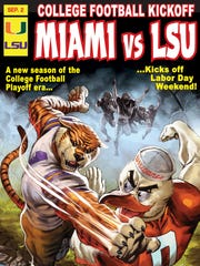 This Marvel Comics special cover for ESPN looks at