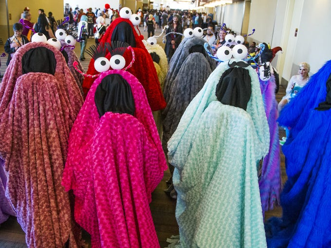 Yip Yips invade Phoenix Comicon , Saturday, May 27,