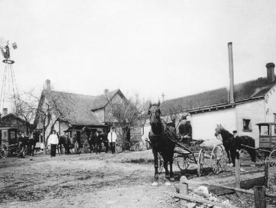 Hoekstra Dairy of Sheboygan. A January 6, 1909 Sheboygan