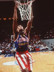 The Harlem Globetrotters come to Blue Cross Arena  Monday, Feb. 13.