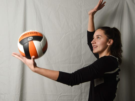 Jaclyn Smith from Pawling High School is the volleyball