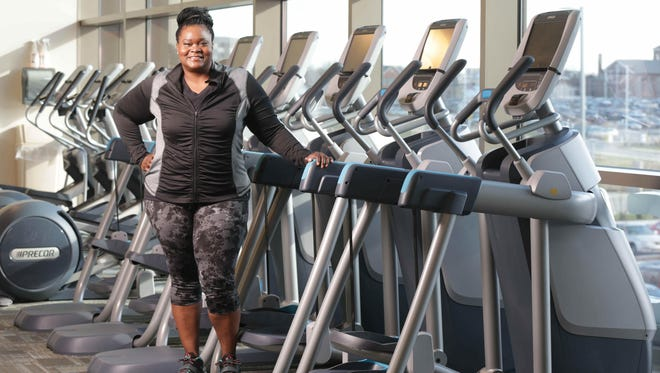The Star's Suzette Hackney gears up for her year-long weight loss challenge at the YMCA at CityWay.
