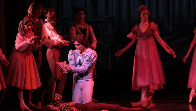 """The Russian National Ballet Theatre will perform """"Romeo & Juliet"""" on Wednesday at Binghamton University."""