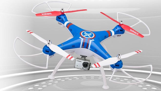 The Swann Xtreem Gravity Pursuit 1080p Drone.