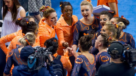Auburn gymnastics team earned a No. 1 Regional seed