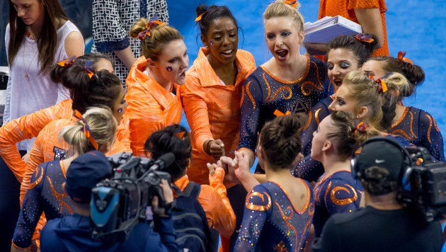 Auburn gymnastics team earned a No. 1 Regional seed and No. 6 overall seed in the NCAA Ann Arbor Women's Gymnastics Regional.
